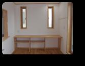 足立区M様邸使いやすさを求めたPC台兼収納スペース