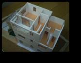 越谷市O様邸ご提案時の模型