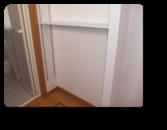 越谷市Y様邸洗面所にちょっとした可動棚 でも収納たっぷり