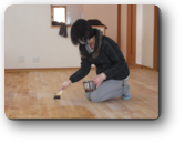 越谷市Y様邸建主さんも自然塗料塗装に参加